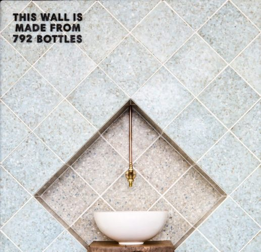 New Marble wall